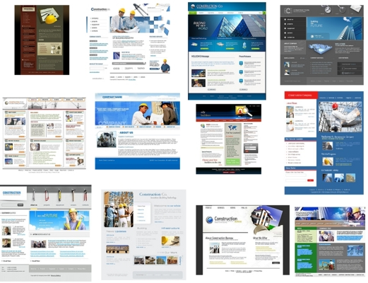 Product picture 12 High Quality - Construction Website Templates Flash HTML