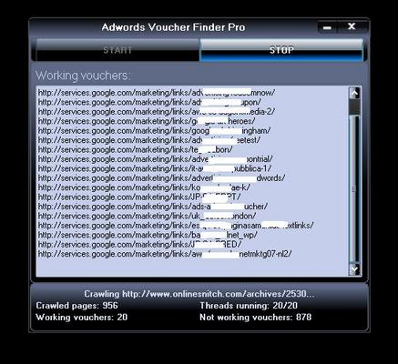 Product picture Free and Legal $300 Adwords Vouchers Unique Software