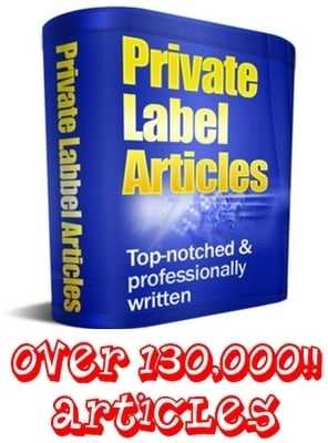 Product picture PLR Mega Pack - 131,000 Articles - Any Topic You Need!